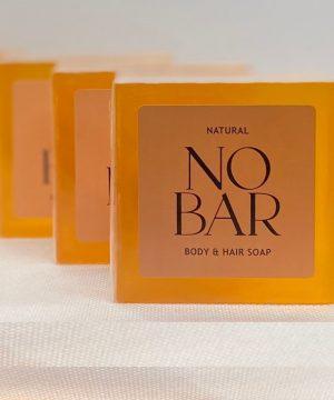 3 x NOBAR Body & Hair Soap