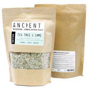 bath salt tea tree lavender